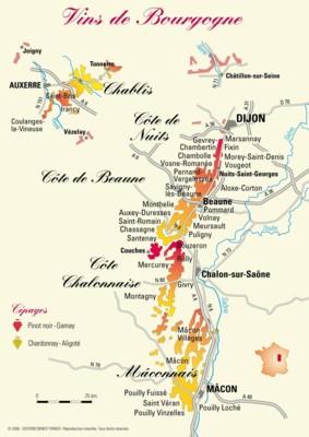 Karte Des Burgund